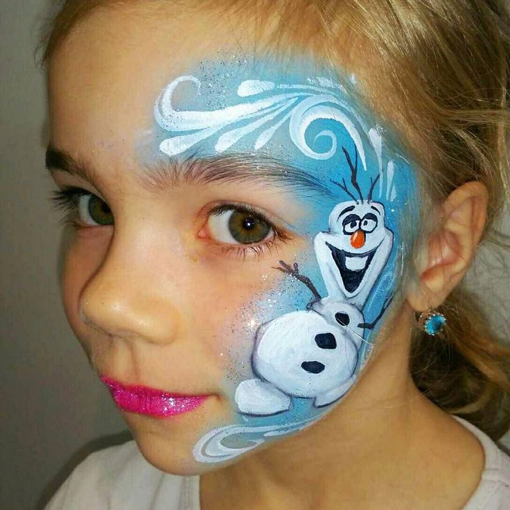 An #onthejob #olaf #facepaint.  If you didn't know I have a video tutorial for this design. Go check my YouTube channel it's Olga's Face & Body Art.   #olgamurasev #facepainting #frozen #frozenfacepaint #olaffacepaint #olaffrozen #olaff #cheekart #learnfacebodyart #howtopaint #learntopaint #faceart #ольгамурашева #аквагрим #олаф #холодноесердце #снеговиколаф #снеговик #фейсарт