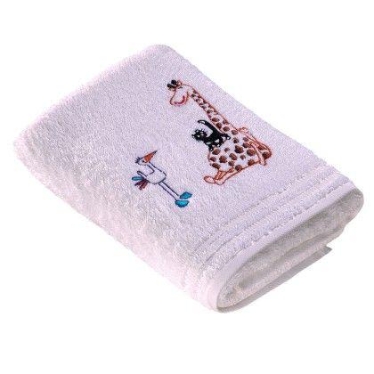 #beds #bedlinen Vossen Handtücher Kiddy Giraffe weiss Kinderduschtuch 50x100 cm: Vossen Baumwolle Handtücher Kiddy… #mattresses #pillows