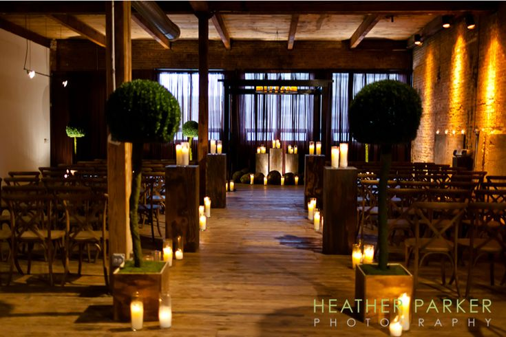 Chicago Loft Wedding Venue And Event Space With Rustic Decor