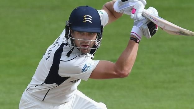 Nick Compton: Middlesex batsman 'proud' of crucial innings of 63 against Notts
