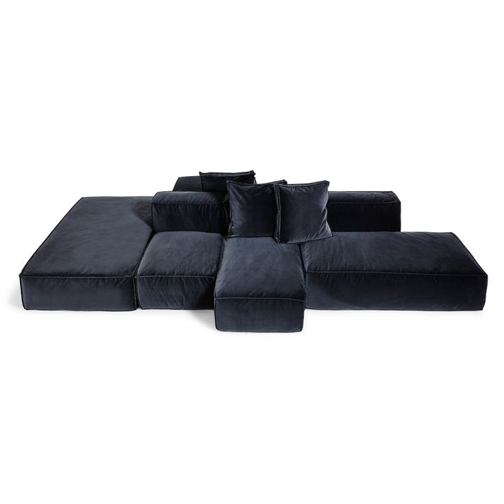 17 best images about modular sofas on pinterest for Sectional sofa pieces sold separately