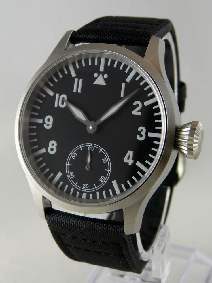 An homage to iconic Flieger pilot watches, as made by Lange & Söhne, Laco, Stowa, IWC. each Watch is checked and regulated on the timing machine. with selected parts and AAA quality movements. genuineTritec Swiss SUPERLUMINOVA BGW9. | eBay!