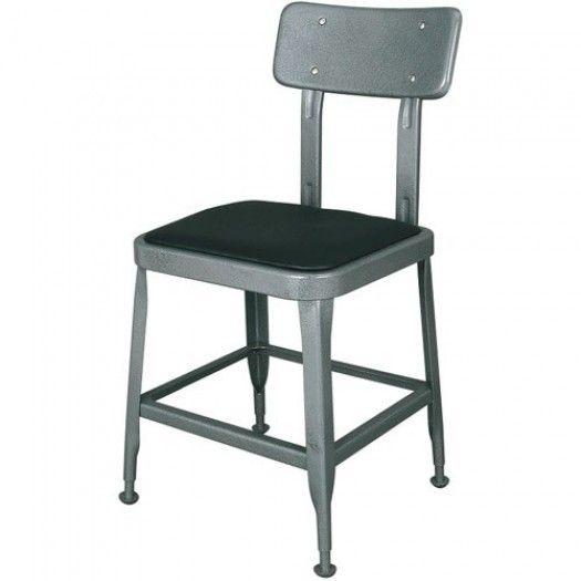 Krzesło Dulton szare