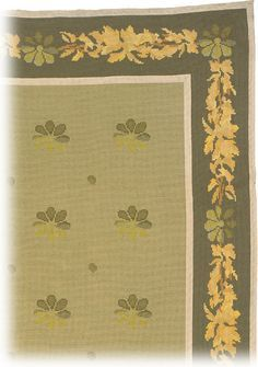 "A circa 1940 Portuguese Arraiolos Needlepoint Carpet. Size: 13'8"" × 9'7"" at F.J. Hakimian."