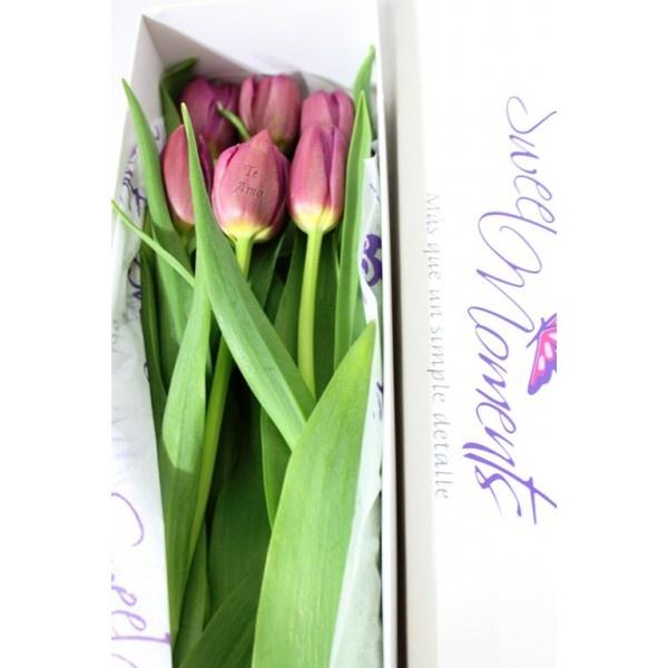 6 Tulipanes impreso