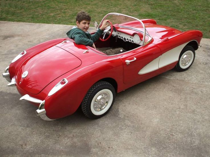 corvette pedal car | 1500 for a '53 Corvette pedal car? JEEESH - Corvette Forum ...