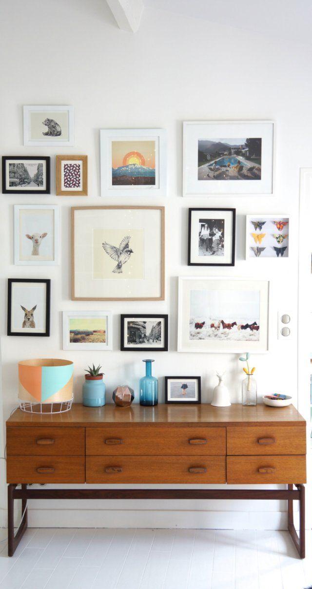 Bienvenue chez Anne du blog Annouchka Anne nous ouvre les portes de son appartement parisien de 6 pièces dans le 18ème arrondissement à Paris.