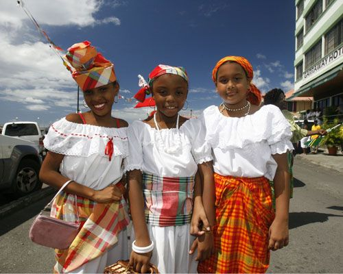 The population of Haiti is 10,306,839.  The traditional clothing for woman is the Haitian quadrille dress.Haitis primary religion is Roman Catholicism and Voodoo.  One Haitian costom i One Haitian...