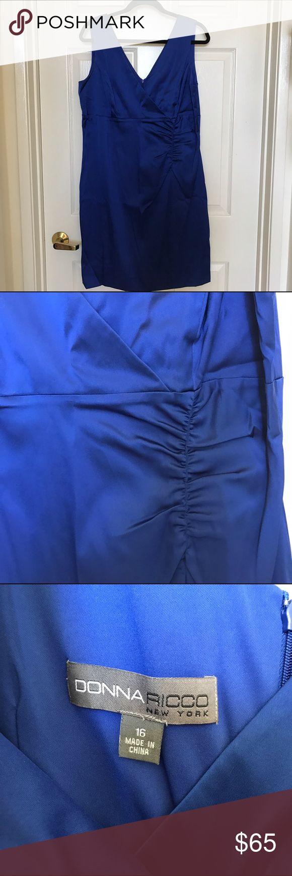Donna Ricco Blue Dress Donna Ricco Blue Dress Donna Ricco Dresses