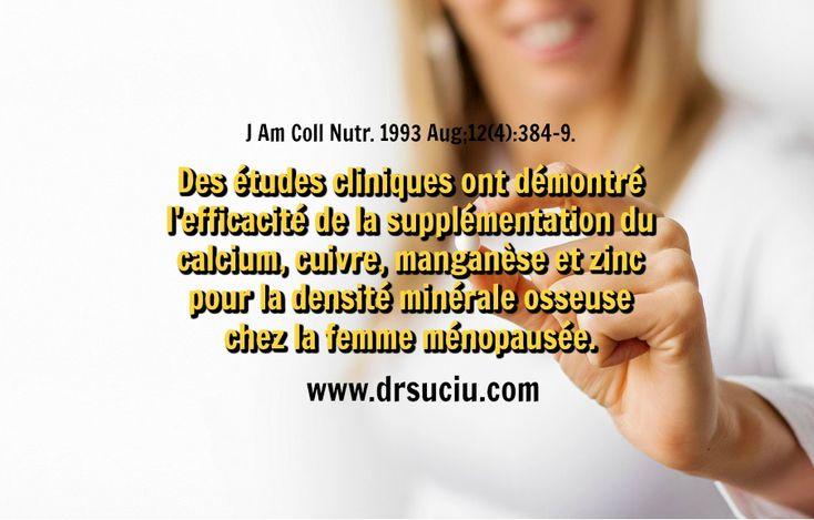 Photo L'Efficacité de la supplémentation en cas d'ostéoporose - drsuciu