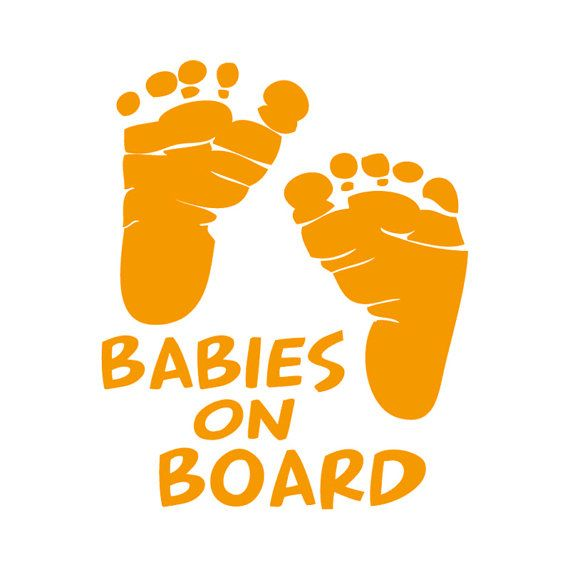 Custom Vinyl Car Decals And Baby Feet On Pinterest