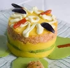 One of the many things you can learn to make in Lima: Causa Rellena de Pollo recipe #receta https://plus.google.com/102729455043373738795/posts/jBUAYyri59w