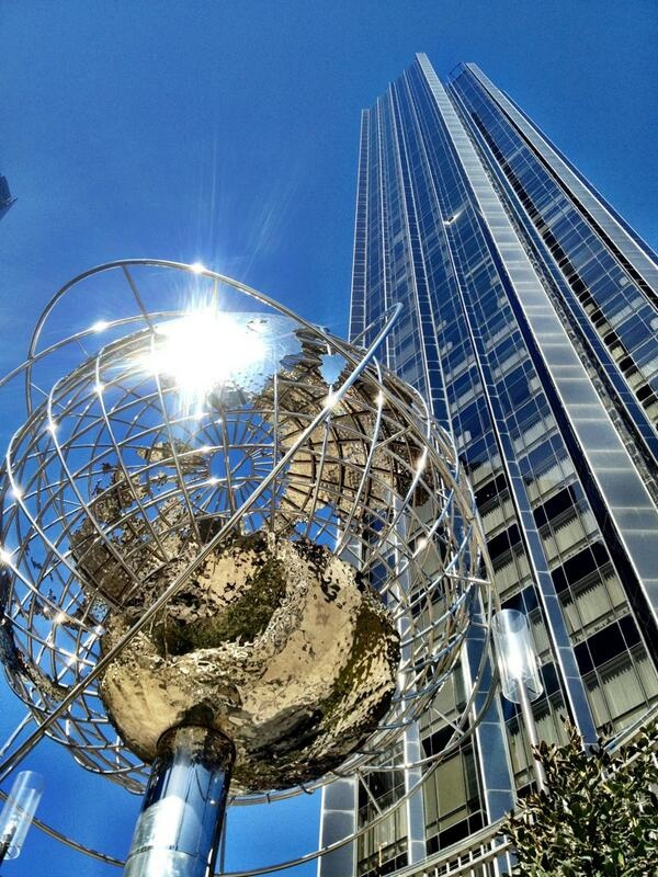 17 Best Images About Globe At Columbus Circle Nyc Hand