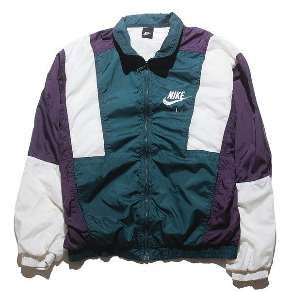 Nike Tri Color Large Perennial Merchants ($48) ❤ liked on Polyvore featuring outerwear, jackets, coats & jackets, outer, nike, multi color jacket, colorful jackets, nike jackets and multi colored jacket