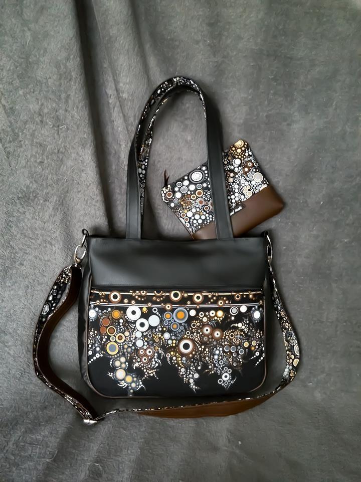 Beads Antistres handbag 12/2017