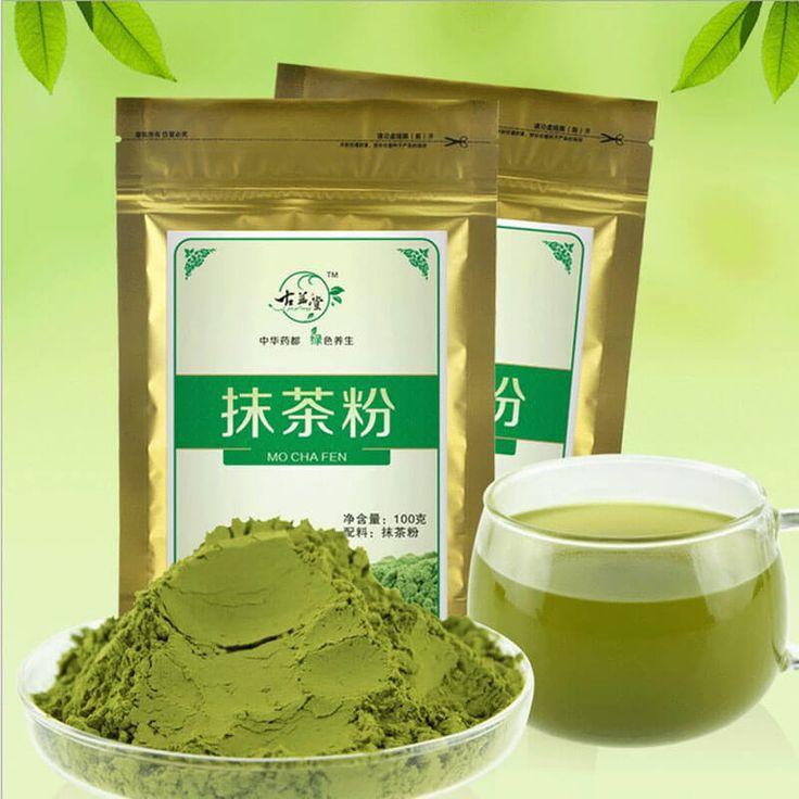 100% Natural Matcha Green Tea Powder //Price: $12.95 & FREE Shipping //     #TeaTime #Tealeaf #ChineseCulture #Teayime #Anticancer #Natural #TeaTalk #ChineseTea #Teabusiness #Morning #Relax #TeaSmarter