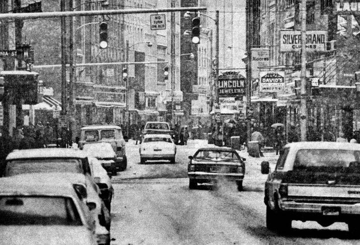Winter Of 1978 Downtown Charleston, WV
