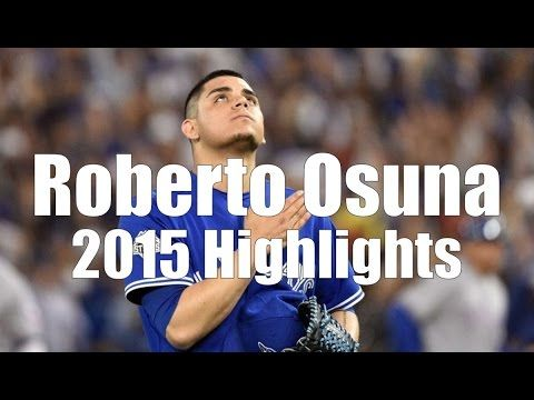 Roberto Osuna - Toronto Blue Jays - 2015 Highlight Mix HD - what a monster!