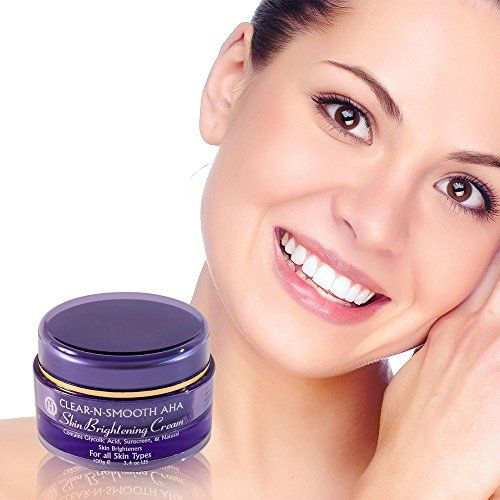 Skin Brightening Cream: Skin Lightening & Whitening from 4 Natural Skin Lighteners & Exfoliating Agents. Lighten Dark Age Spots. Effective Safer Bleaching Substitute to Hydroquinone for Even Skin Tone