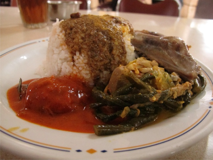 Nasi Padang at Sederhana Resto, Indonesia