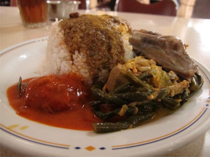 Nasi Padang at Sederhana Resto, Indonesia