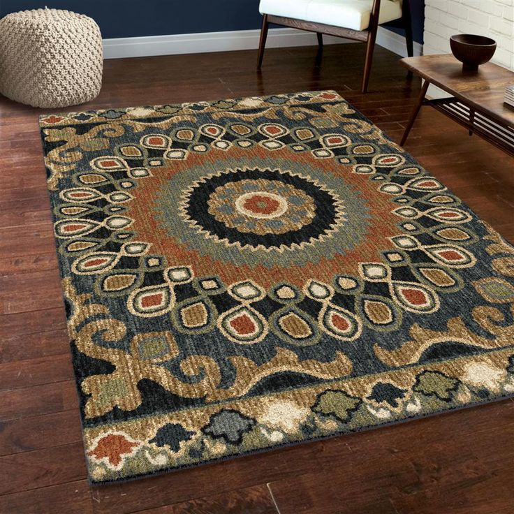 """5x8 (5'3"""" x 7'6"""") Transitional Contemporary Traditional Shag Plush Area Rug in Home & Garden, Rugs & Carpets, Area Rugs 