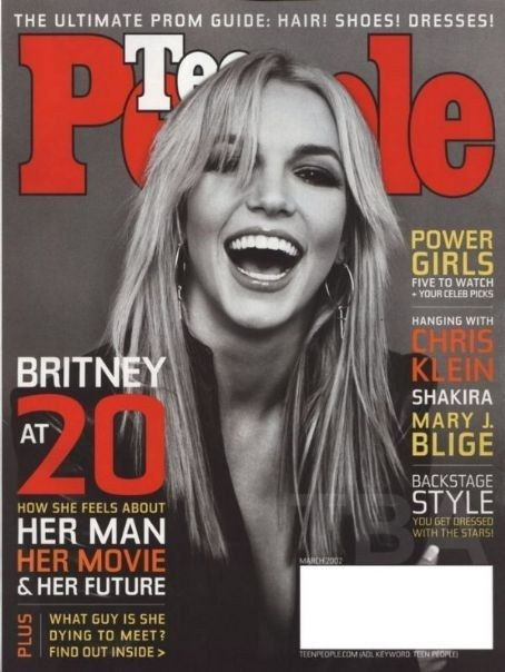 March 2002: Britney was just 20 years old and talking about her epic cinematic masterpiece, Crossroads. | 13 Riveting Teen People Covers That Immortalized 2002