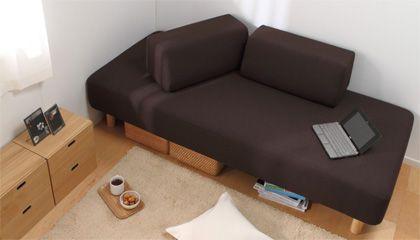 無印大好きムジムジくん:ソファベッド また、当時の無印良品のソファベッドは、白いベッドマットが半分に折れて、ソファになるという、画期的なデザインと、ソファベッドとしては、手頃な価格で人気があった ...