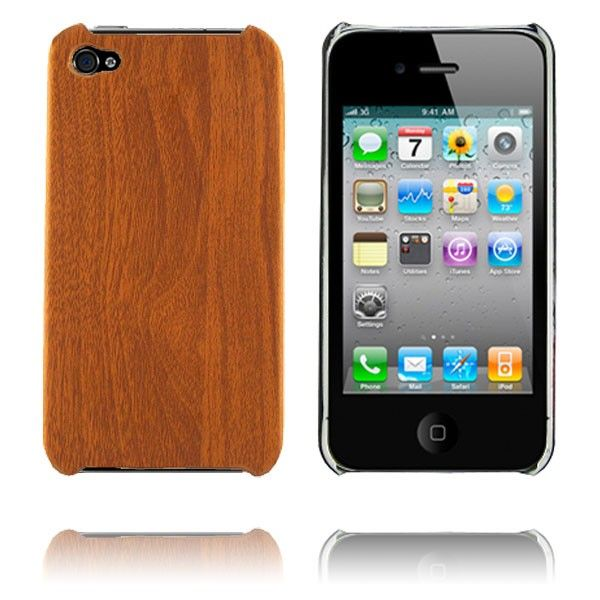 Office (Wood look) iPhone 4 Deksel