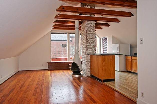 attic apartment! Make a profit on your unused space!