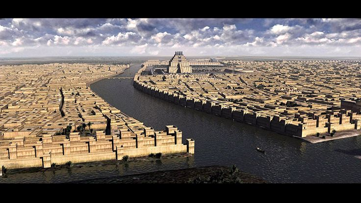 Reconstruction of the ancient city of Babylon was created by me between March and May of 2013 for the Mesopotamia exhibition of the Royal Ontario Museum