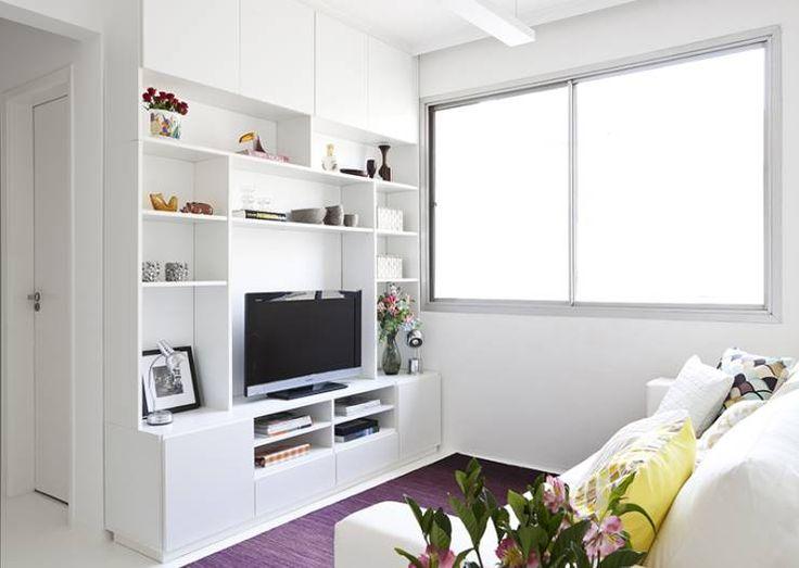 Küçük Evler Için TV Odası Dekorasyon Fikirleri