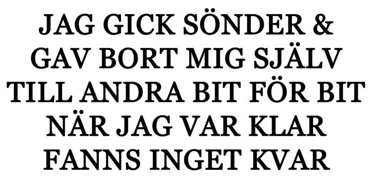 MARKUS KRUNEGÅRD