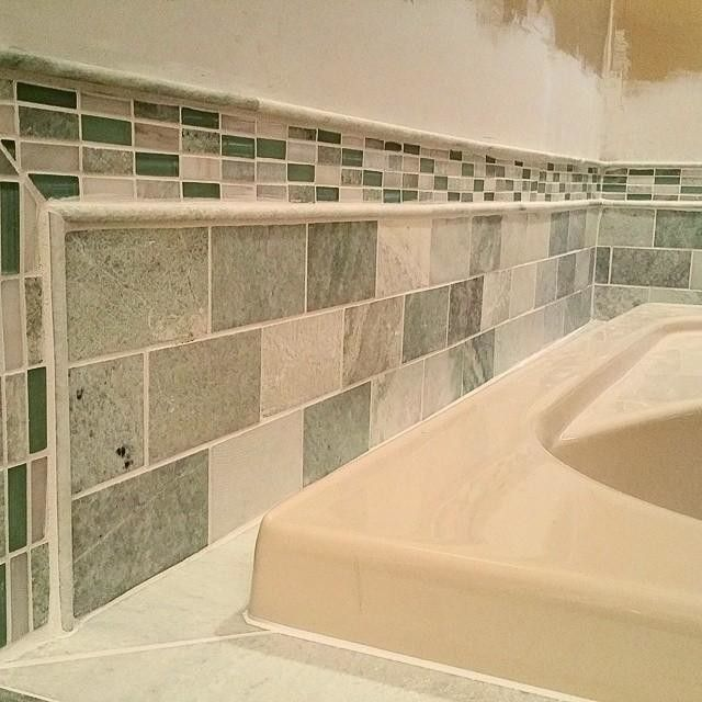 Biltmore Marble Subway Tile With Coordinating Finishing