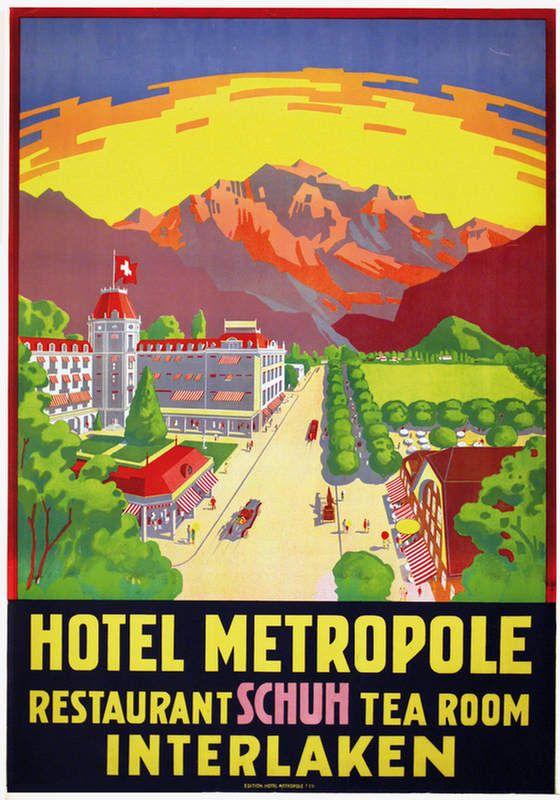 Jacomo Muller Jacomo Interlaken Hotel Metropole Restaurant Schuh