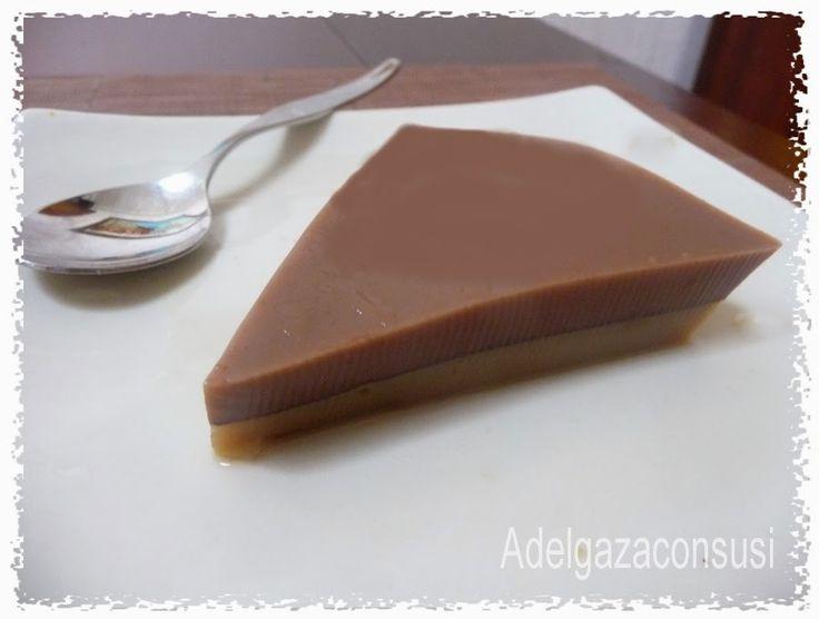 Gelatina de chocolate y café, con tan solo 60 kcal por ración!! | Cocina
