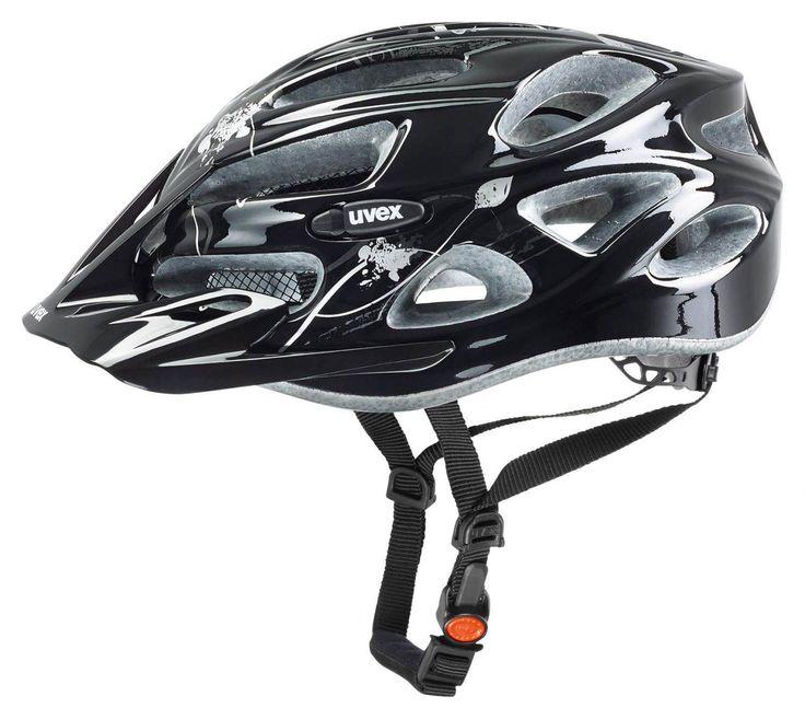 Sportolino Angebote uvex Onyx Damen Radhelm (Größe: 52-57 cm, 25 black/silver): Category: Fahrrad>Fahrradhelme>Fahrradhelme…%#sport%