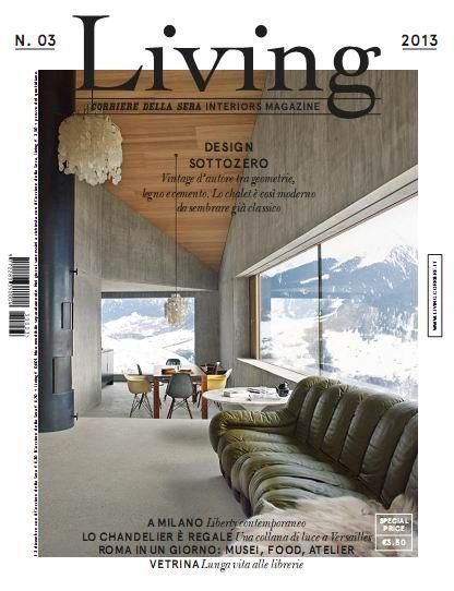 Living: corriere della sera interiors magazine N.03