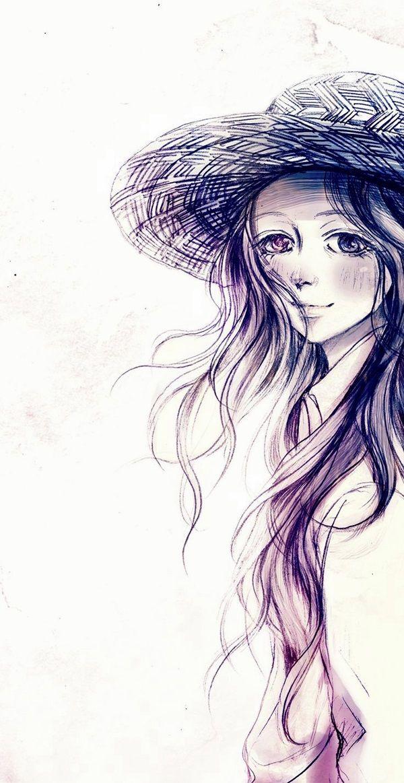 40 Amazing Anime Drawings And Manga Faces - Bored Art