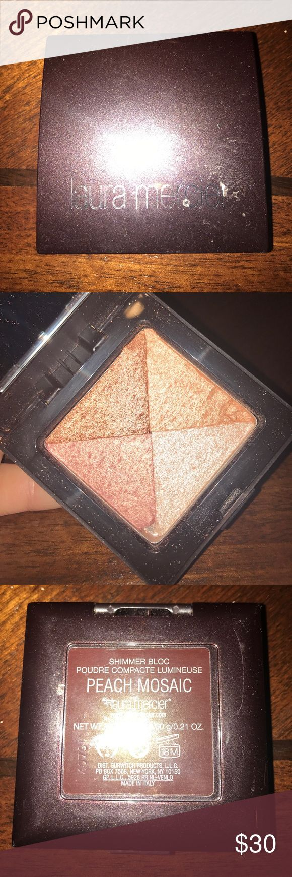 Laura Mercier Highlight Luminizer Peach Mosaic Laura Mercier Makeup Luminizer