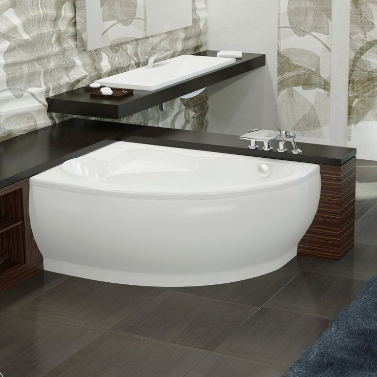 43 best images about corner bathtub on pinterest soaking. Black Bedroom Furniture Sets. Home Design Ideas