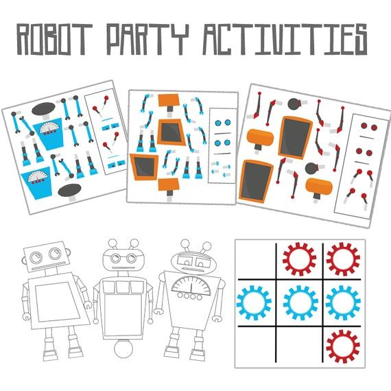 1000 Images About Aliens Robots amp Rockets Party On Pinterest