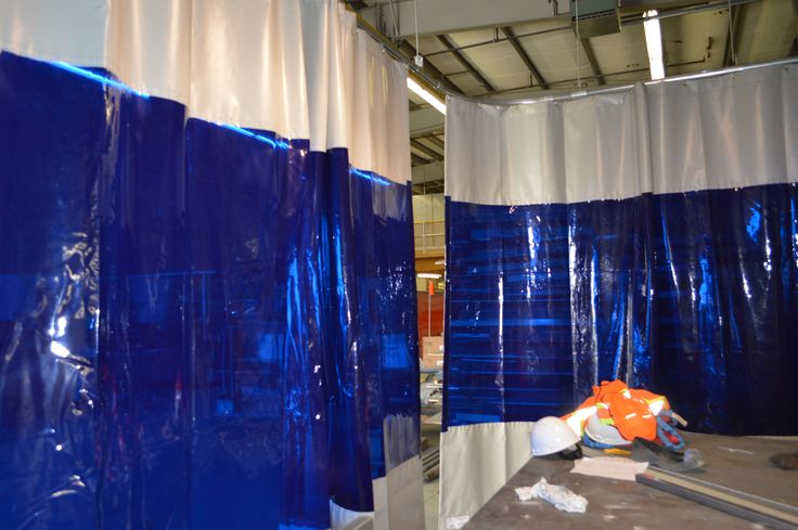 Weld Curtain Enclosures : Best images about warehouse curtains on pinterest