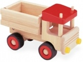 Wooden Dump Truck -  tilt the back to unload.