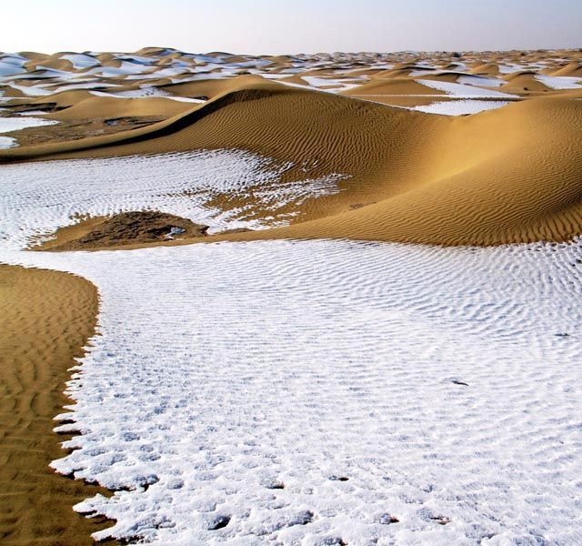Taklamakan Desert at Xinjiang China