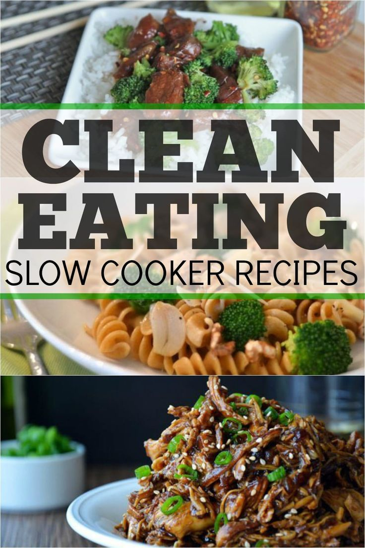 Clean eating + slow cooker = awesome!! I love these clean eating crock pot recipes!