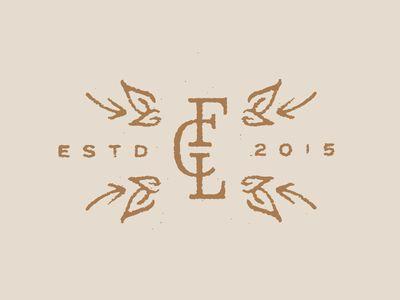 Function Coffee Labs - Melissa Yeager logo design monogram flourish