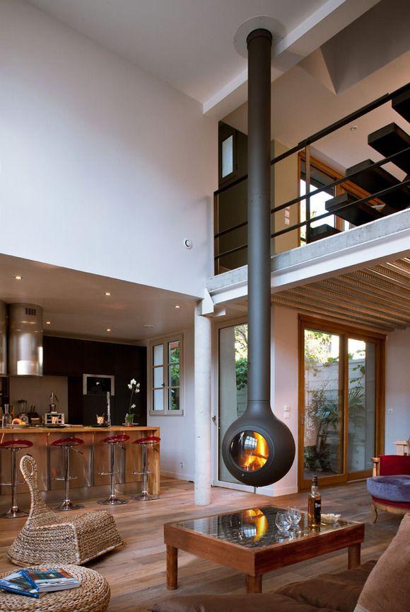 Las mejores chimeneas de diseño. Fuente: http://www.focus-creation.com/#/stove/bathyscafocus-porthole