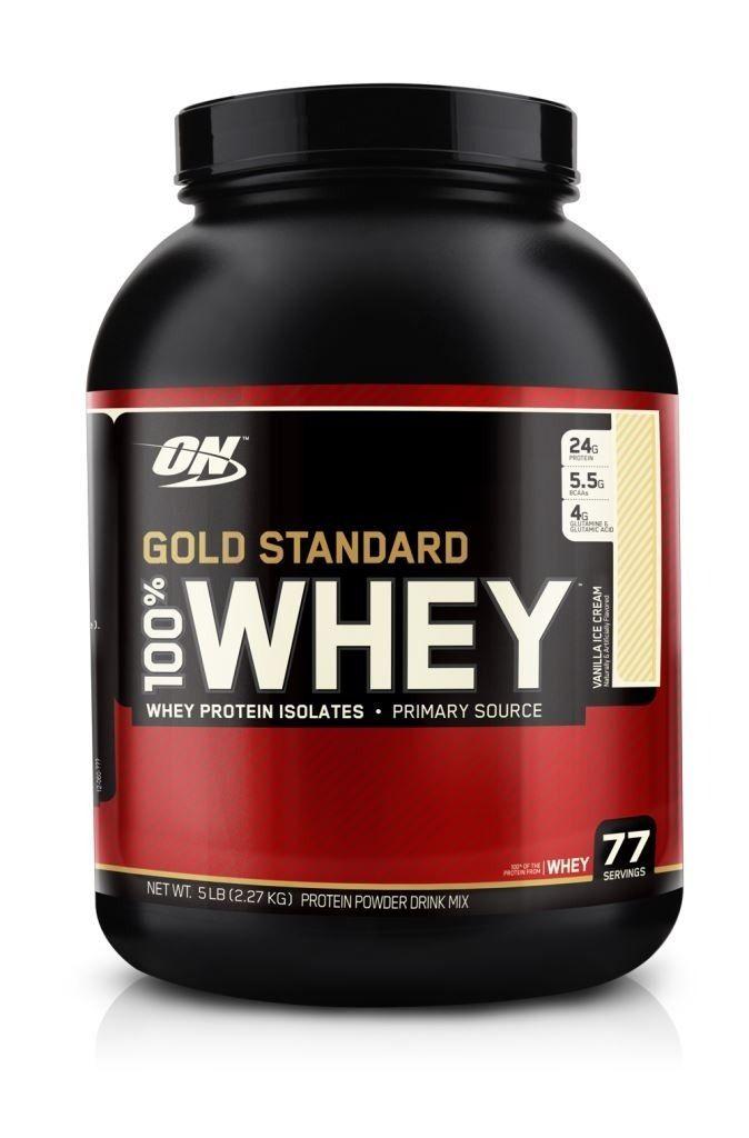 [CorpoPerfeito] Whey Gold Standard 2268g Morango/Baunilha R$ 255,69 boleto/R$284,10 12xCC