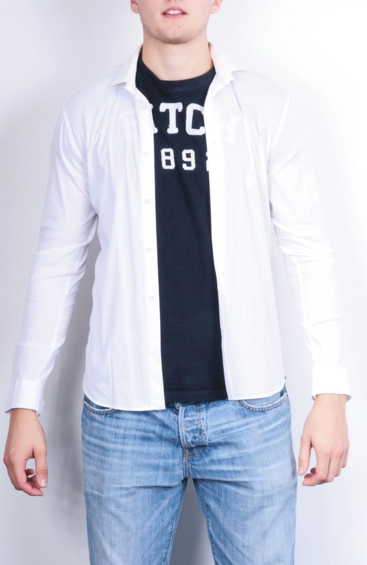 Miu Miu Mens 15 38 S / M Casual Shirt White Italy Cotton